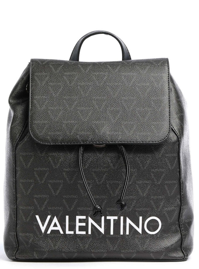 Valentino By Mario Valentino Liuto Backpack Vbs3kg32 395 Black Multicolor