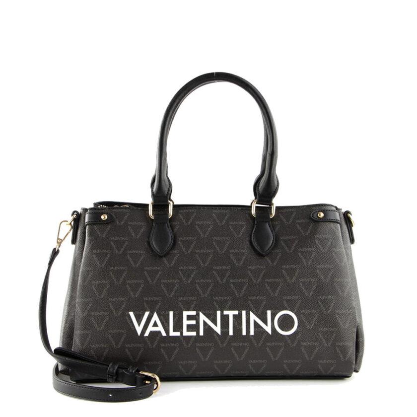Valentino By Mario Valentino Tsanta Tote Liuto Vbs3kg27 395 Nero Multicolor 60784 Eccentricobagsgr