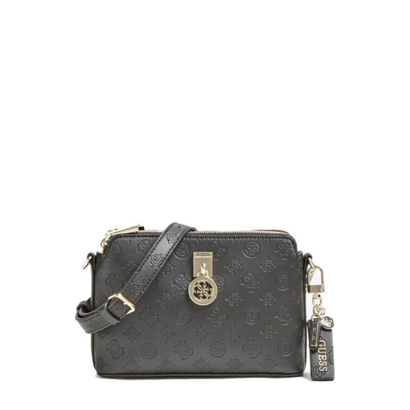 Guess Ninnette Debossed Crossbody Bag Sg7877140 Black