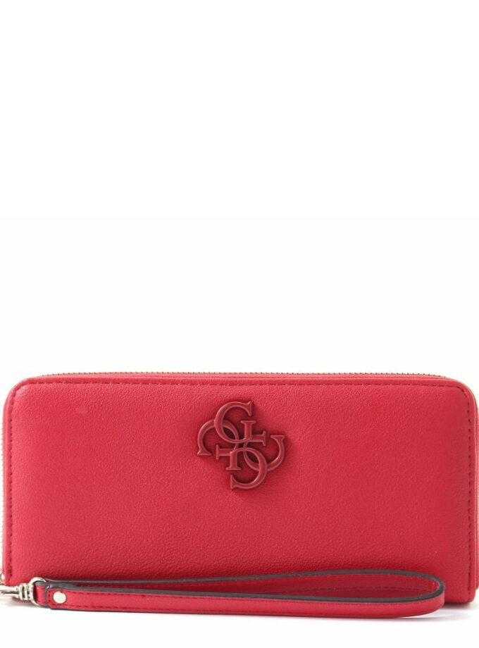 Guess Purse Noelle Slg Ve787946 Red