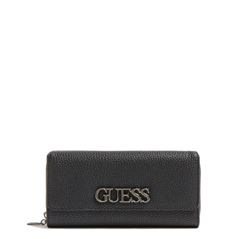Guess Uptown Chic Maxi Wallet Ag730162 Black