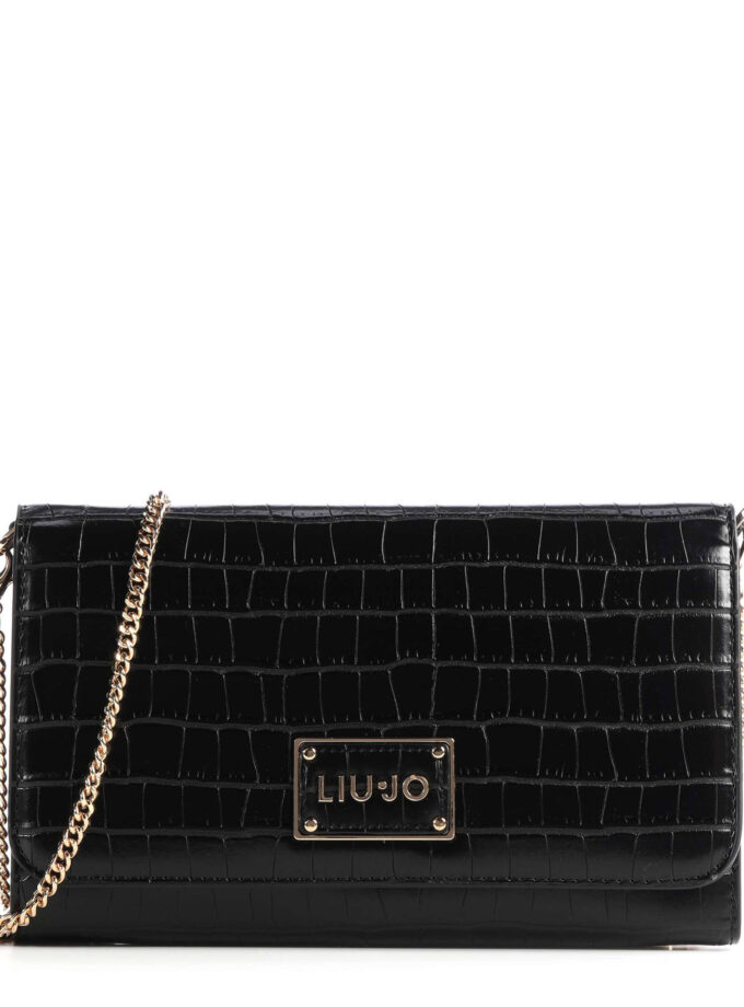 Liu Jo S Crossbody Bag Nf0155 E0084 22222 Black