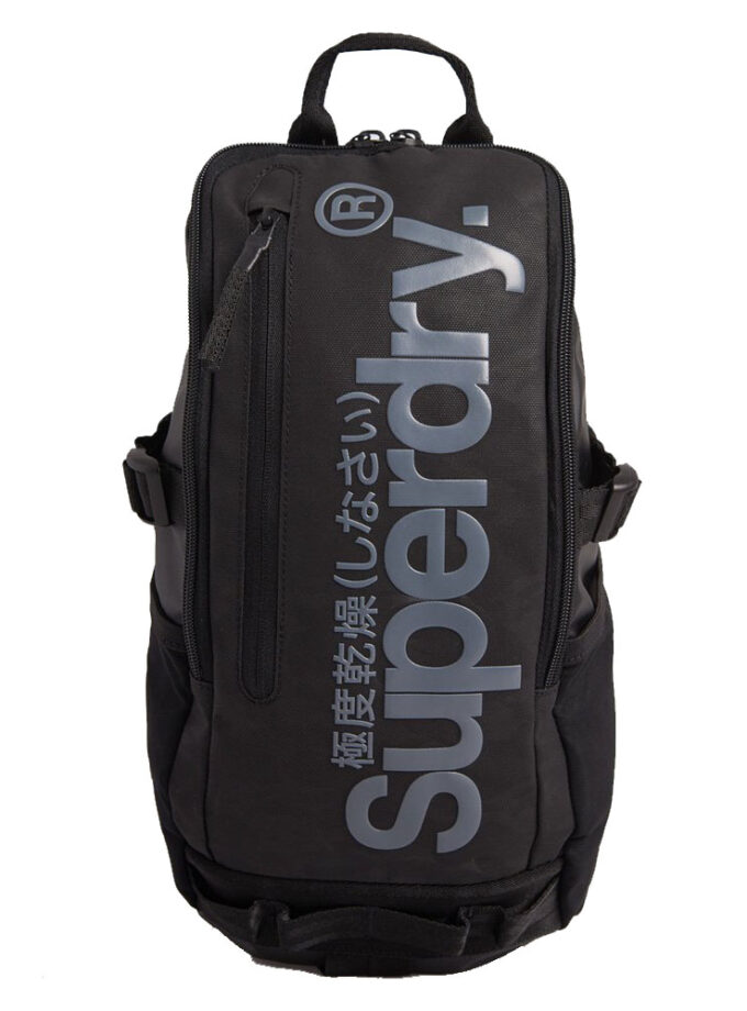Superdry Backpack Detroit Hardy Tarp M9110204a A15 Black Camo