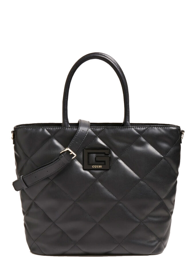 Guess Brightside Tote Bag Qb758023 Black