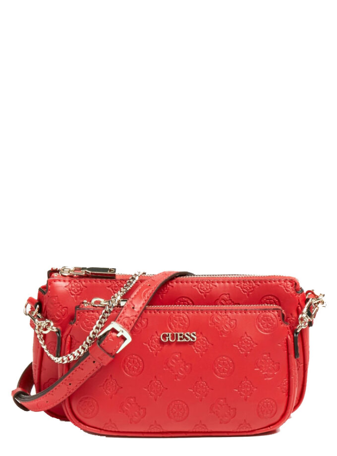 Guess Crossbody Bag Dayanne Mini Hwsg7968700 Red