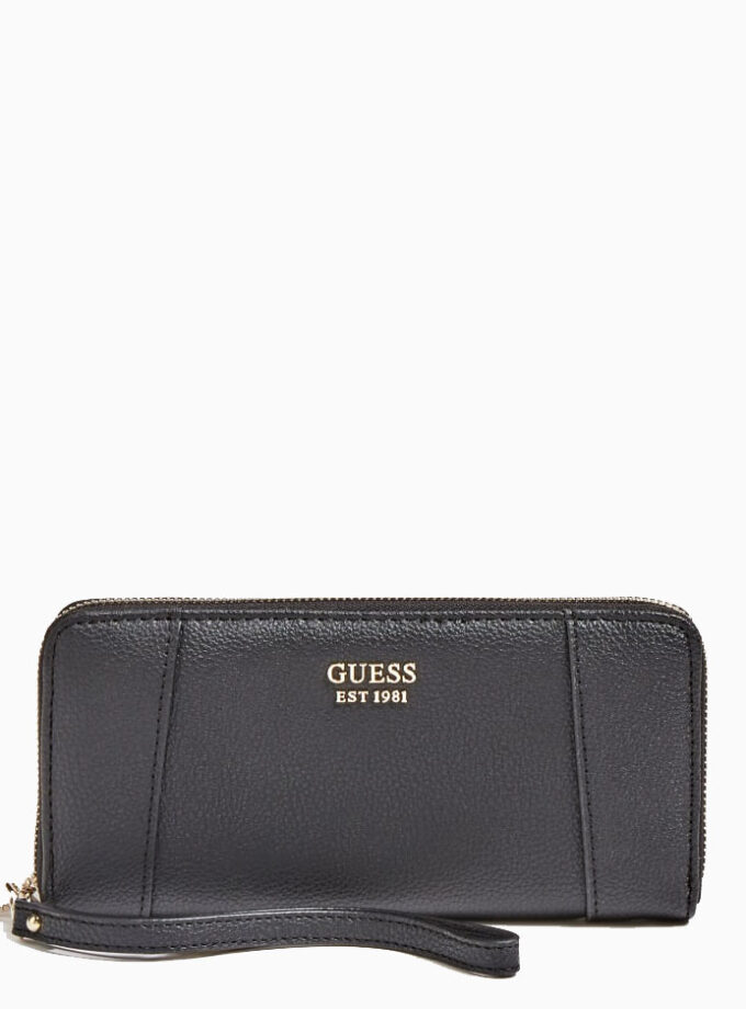 guess wallet naya maxi swvg788146 black