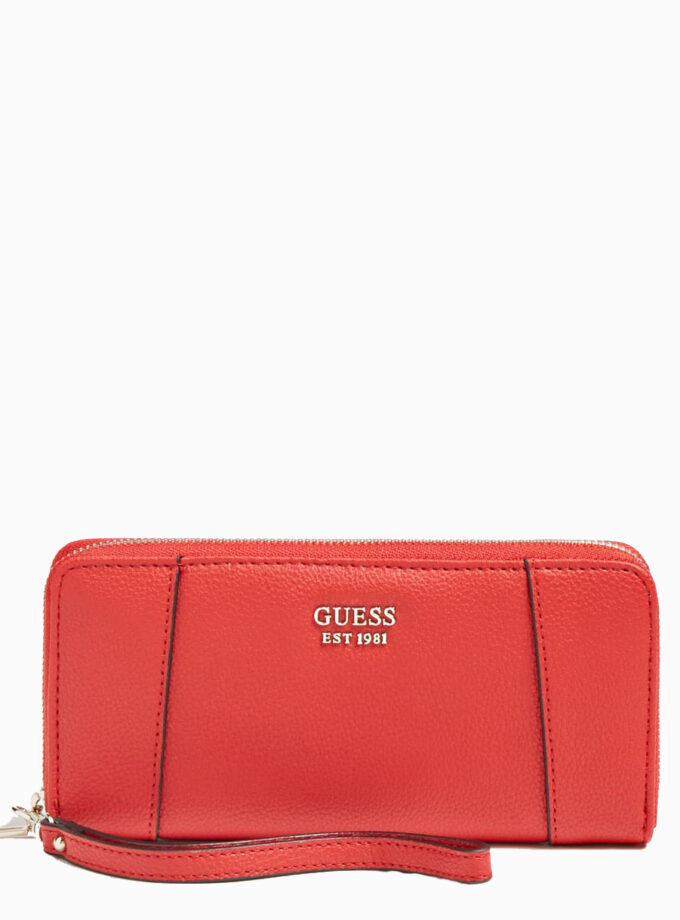 guess wallet naya maxi swvg788146 red