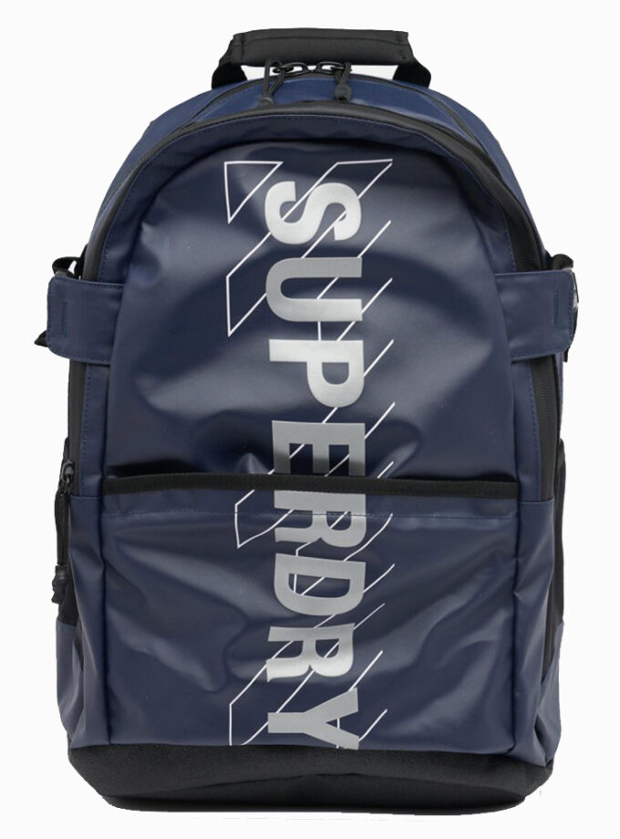 superdry sport code tarp backpack m9110412a 11s navy